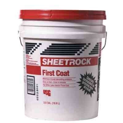 Sheetrock First Coat Drywall Primer, 5 Gal.