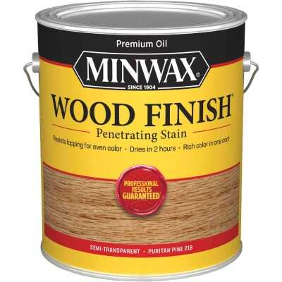 Minwax Wood Finish Penetrating Stain, Puritan Pine, 1 Gal.