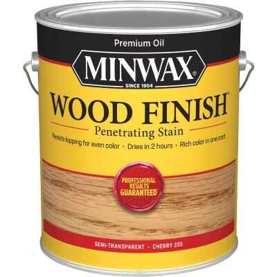 Minwax Wood Finish Penetrating Stain, Cherry, 1 Gal.