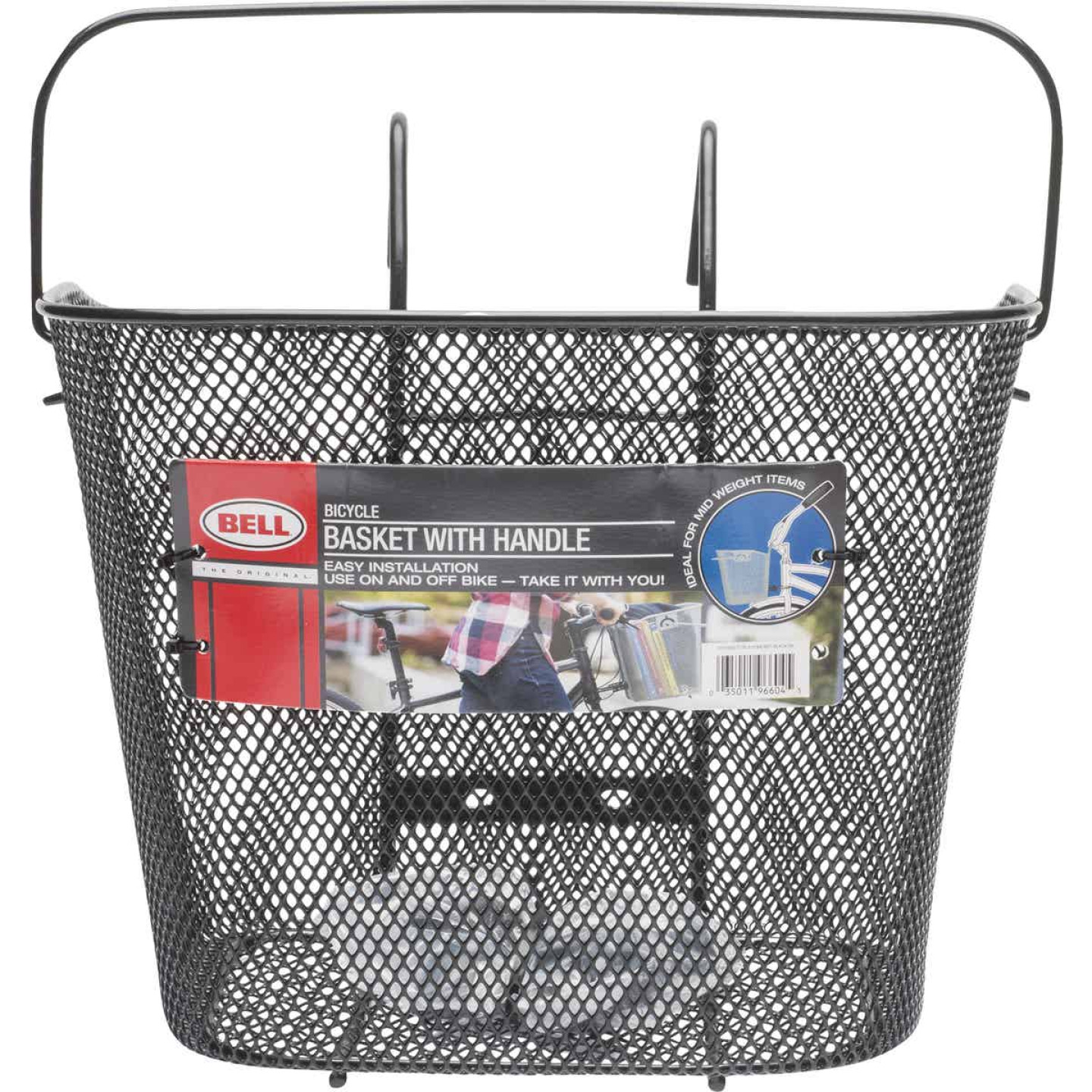 Bell Sports Quick Release Wire Mesh Bicycle Basket Image 1