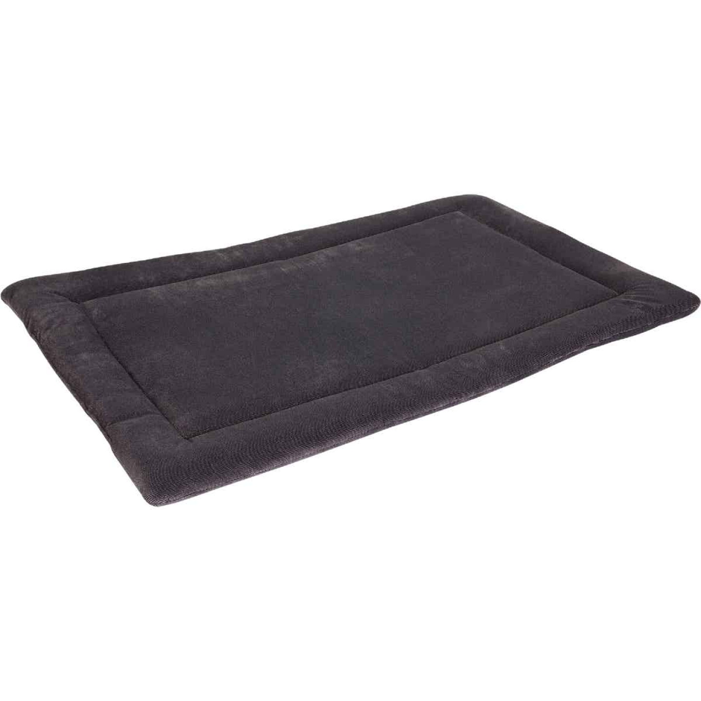 Petmate Aspen Pet 23.5 In. W. x 16.5 In. L. Woven Plush/Polyester Batting Kennel Mat Dog Bed Image 1