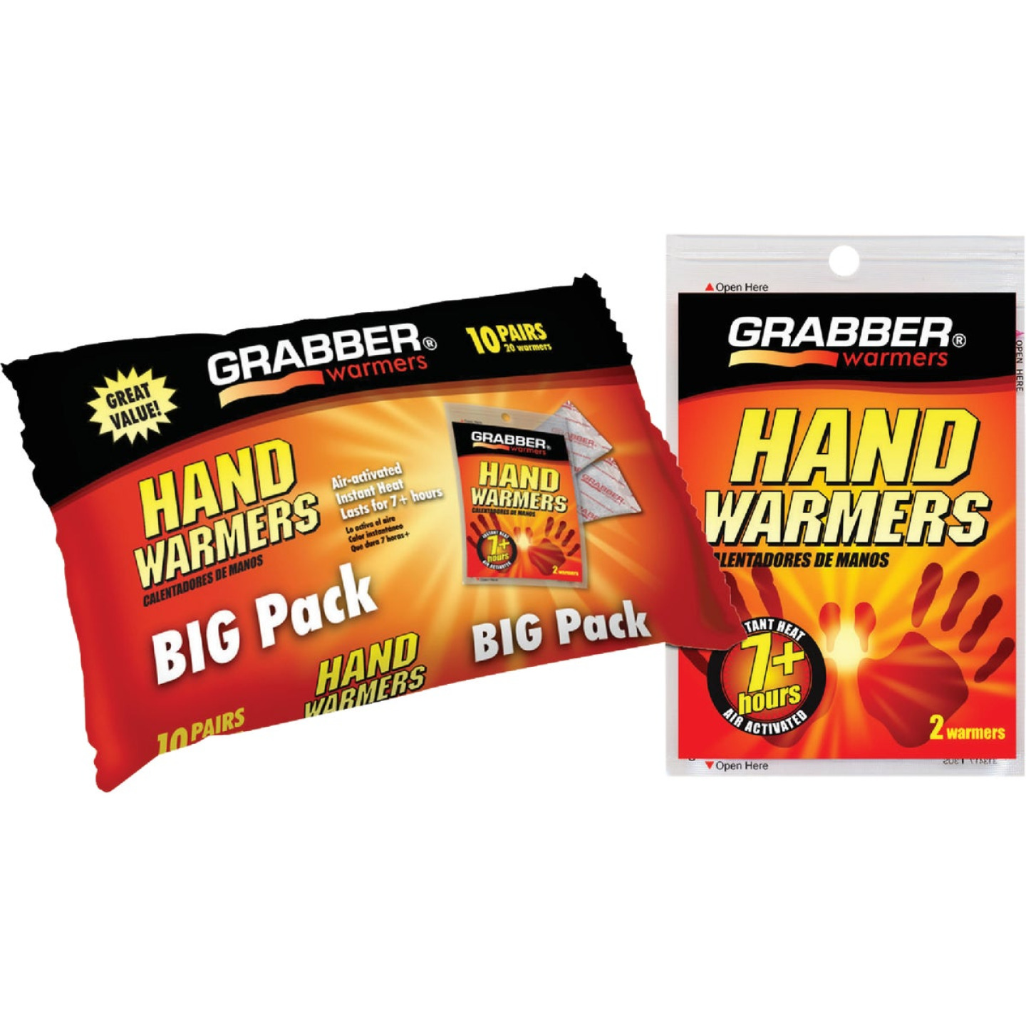Grabber Disposable Hand Warmer (10-Pack) Image 1