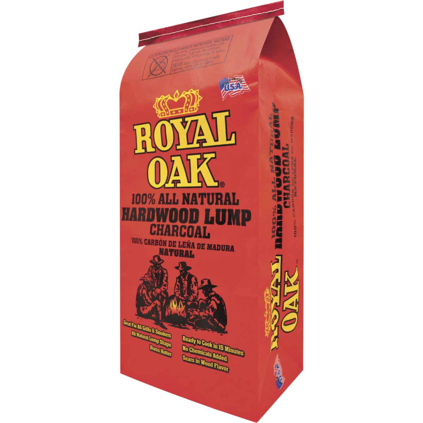 Royal Oak 15.4 Lb. Natural Lump Charcoal Image 1