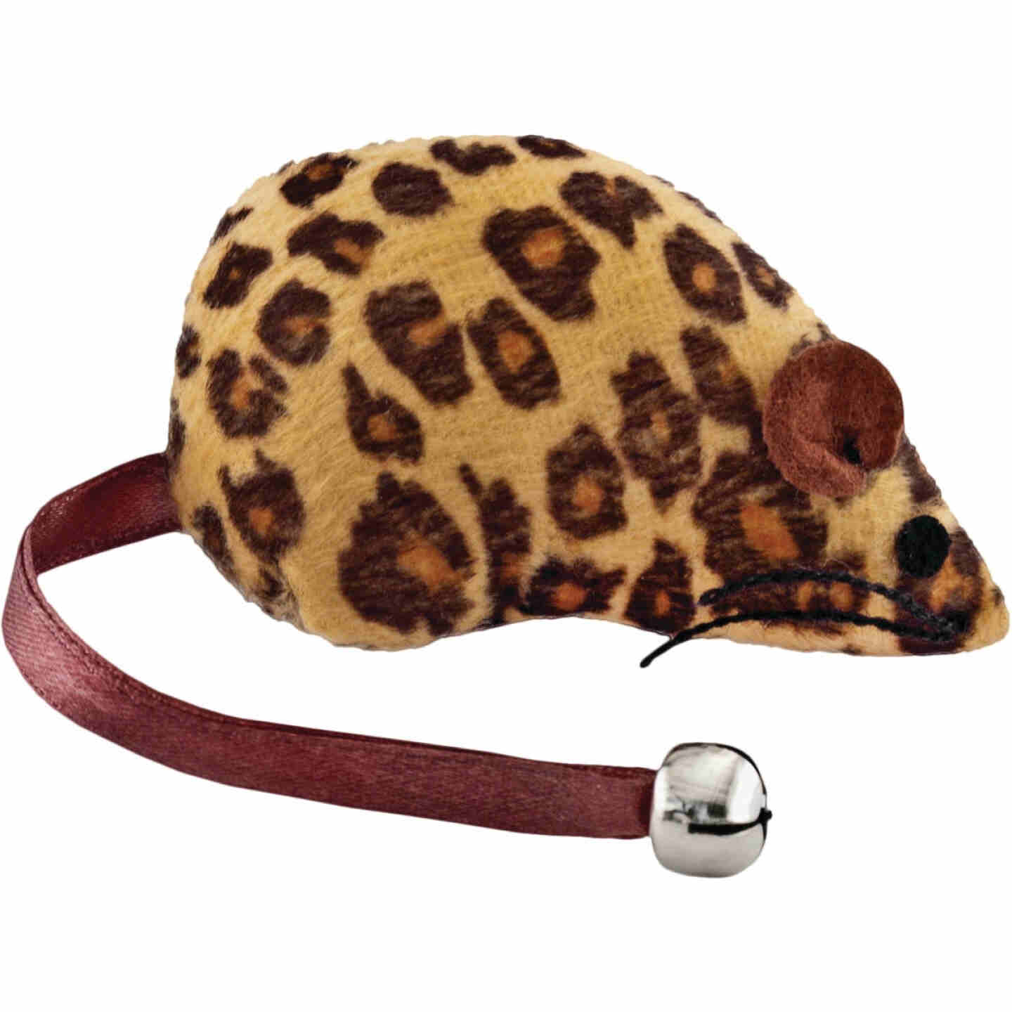 Westminster Pet Ruffin' it Plush Mouse Cat Toy Image 1