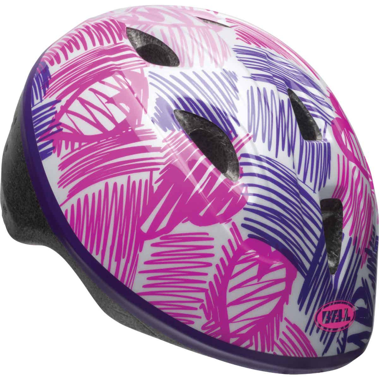 Bell Sports Girl's Toddler Bicycle Helmet Image 1