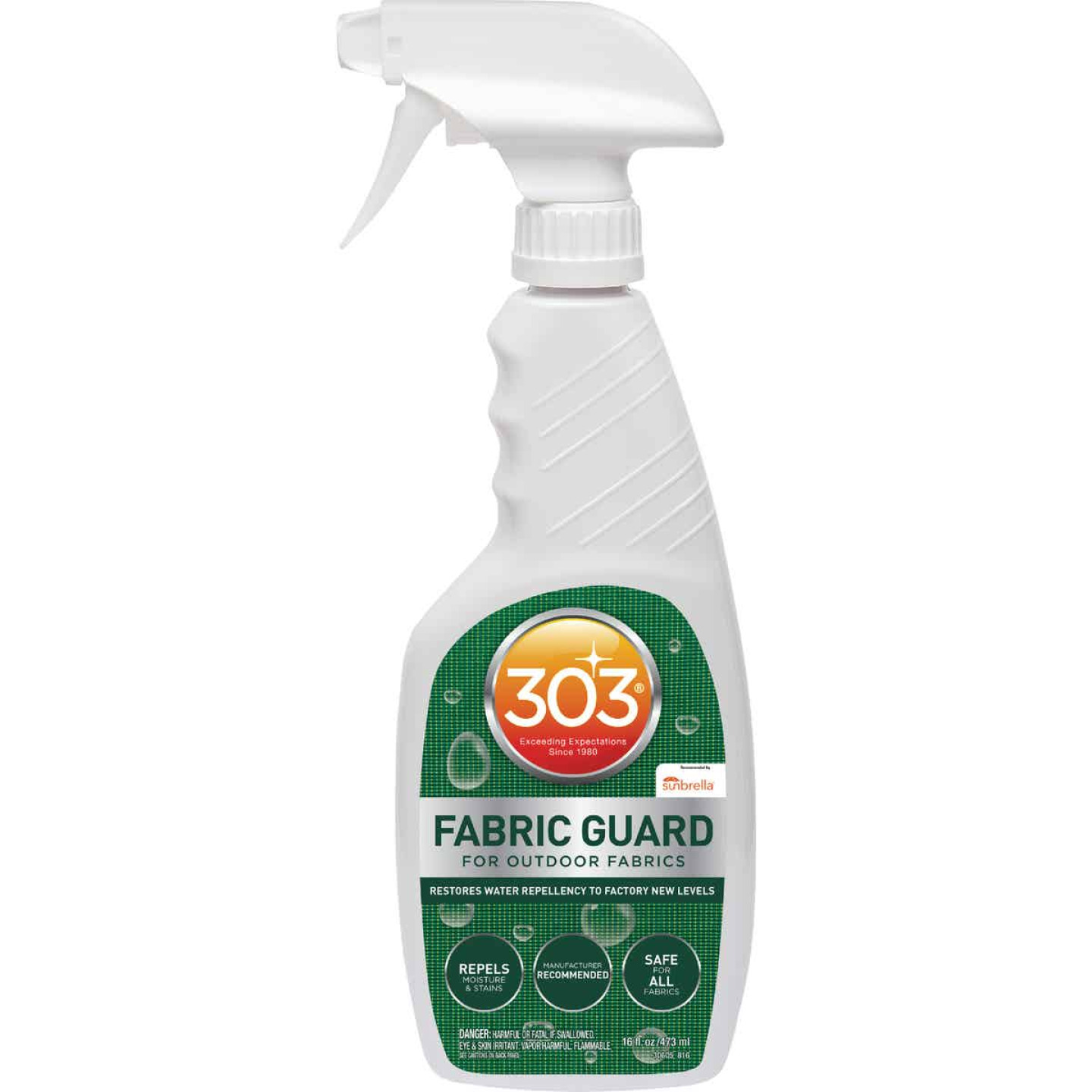 303 Products 16 Oz. Trigger Spray Outdoor Fabric Guard Image 1