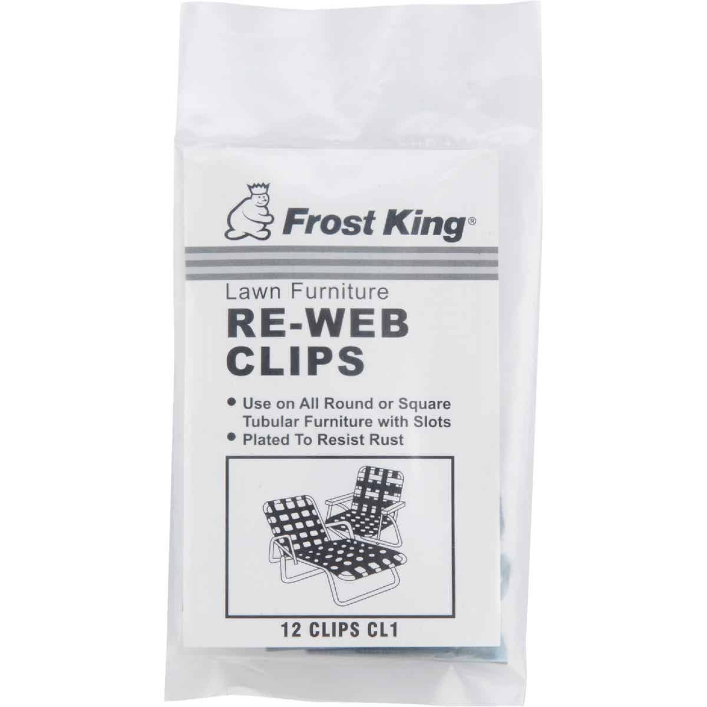 Frost King Plated Outdoor Chair Webbing Screws (20-Pack) Image 2