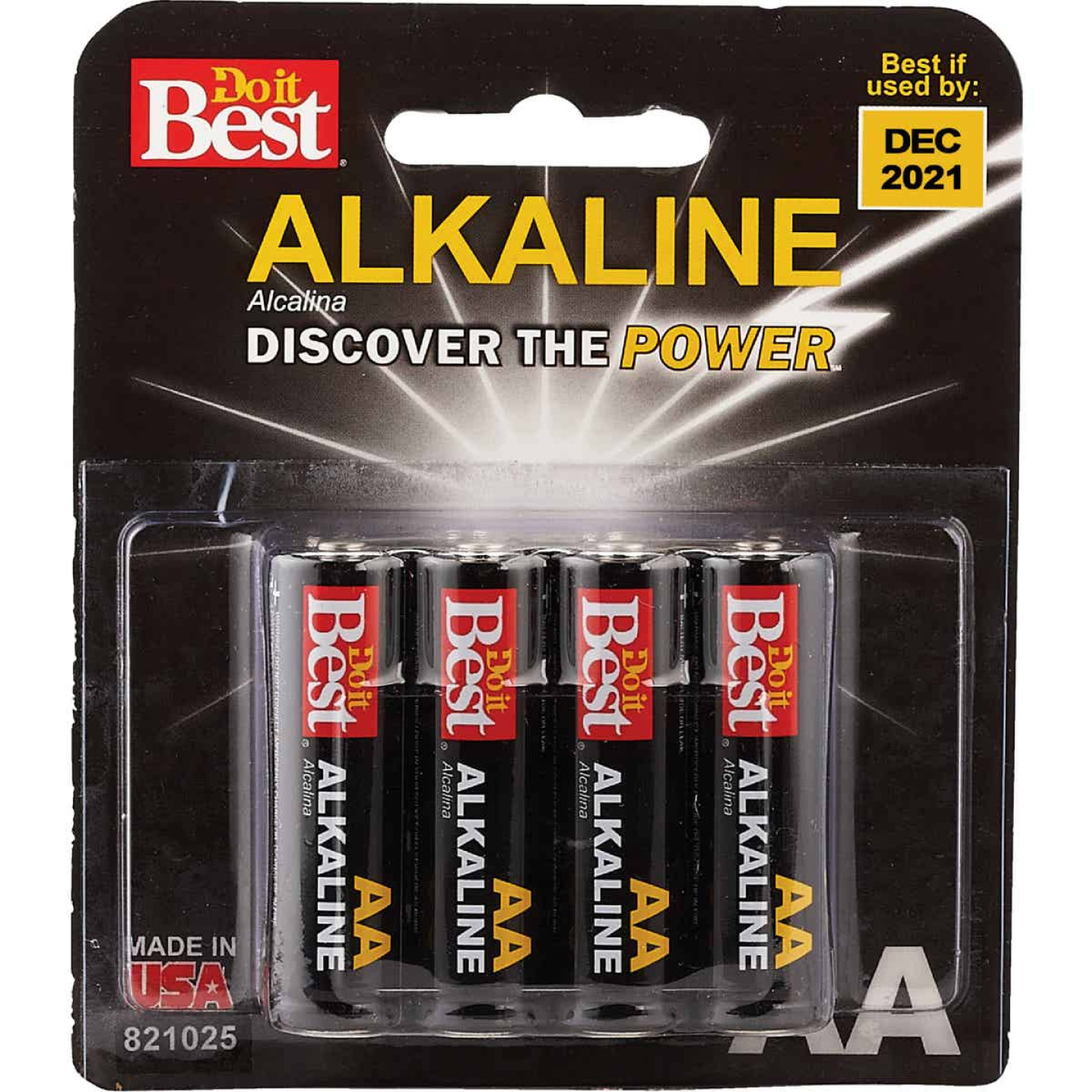 Do it Best AA Alkaline Battery (8-Pack) Image 1