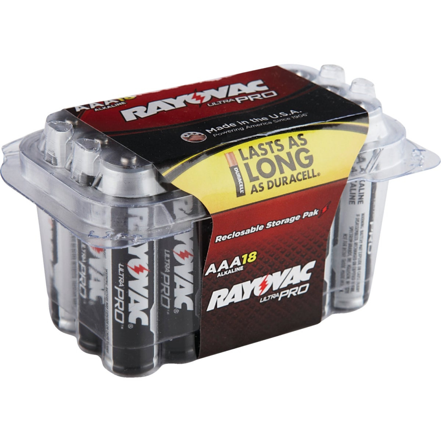 Rayovac UltraPro AAA Alkaline Battery (18-Pack) Image 1