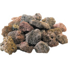 GrillPro 7 Lb. Assorted Color Lava Rock Image 1