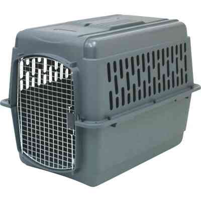 Petmate Aspen Pet 36 In. x 25 In. x 27 In. 50 to 70 Lb. Large Porter Pet Carrier
