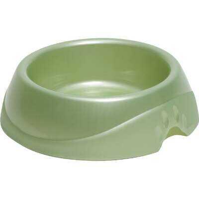 Petmate Plastic Round Jumbo Designer Pet Food Bowl