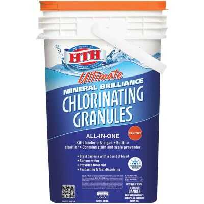 HTH 50 Lb. Ultimate Mineral Brilliance Chlorine Granule