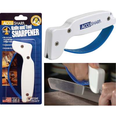 AccuSharp Groove Diamond-Honed Carbide Blade Knife & Tool Sharpener