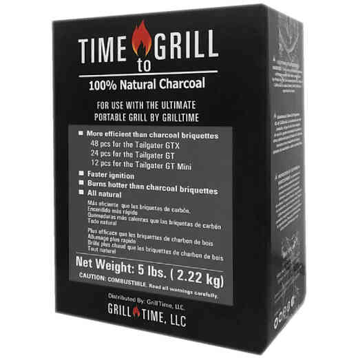 Grill Time 5 Lb. Natural Wood Charcoal
