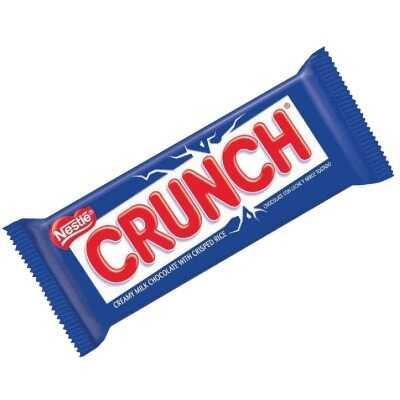 Nestle Crunch 1.55 Oz. Crispy Milk Chocolate Candy Bar