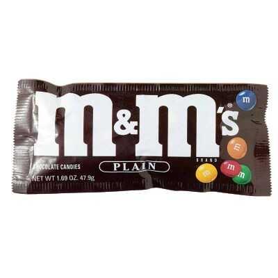 M&M's Plain 1.69 oz. Candy