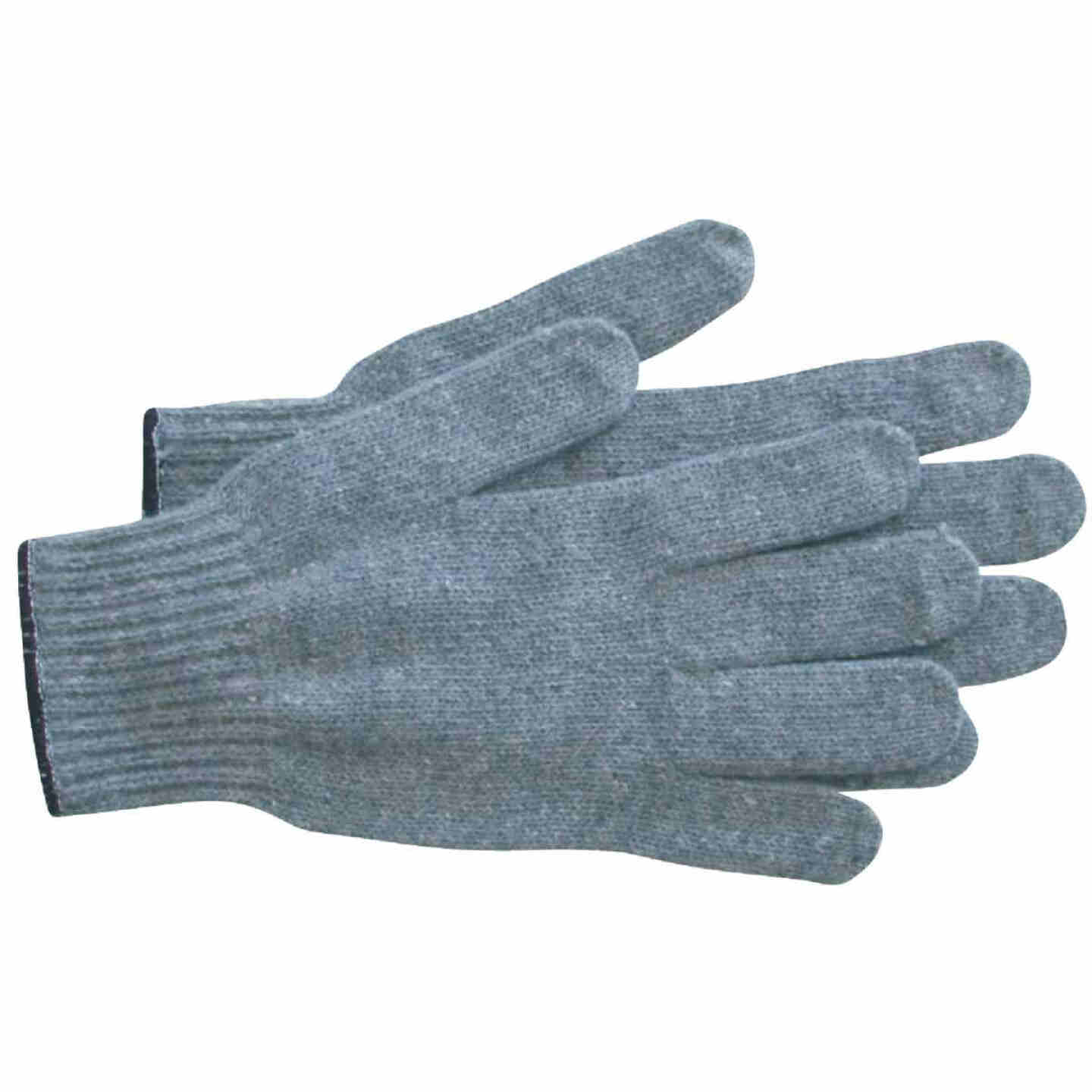 PIP Men's Large Cotton/Polyester Work Glove, Gray (12-Pack) Image 1